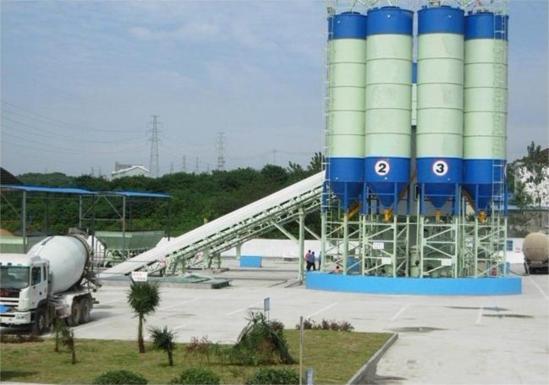 Planta de mistura de concreto (HZS180)