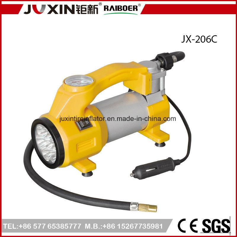 Van de LEIDENE van gelijkstroom 12V 150psi Compressor de Lichte MiniLucht van de Auto voor Auto
