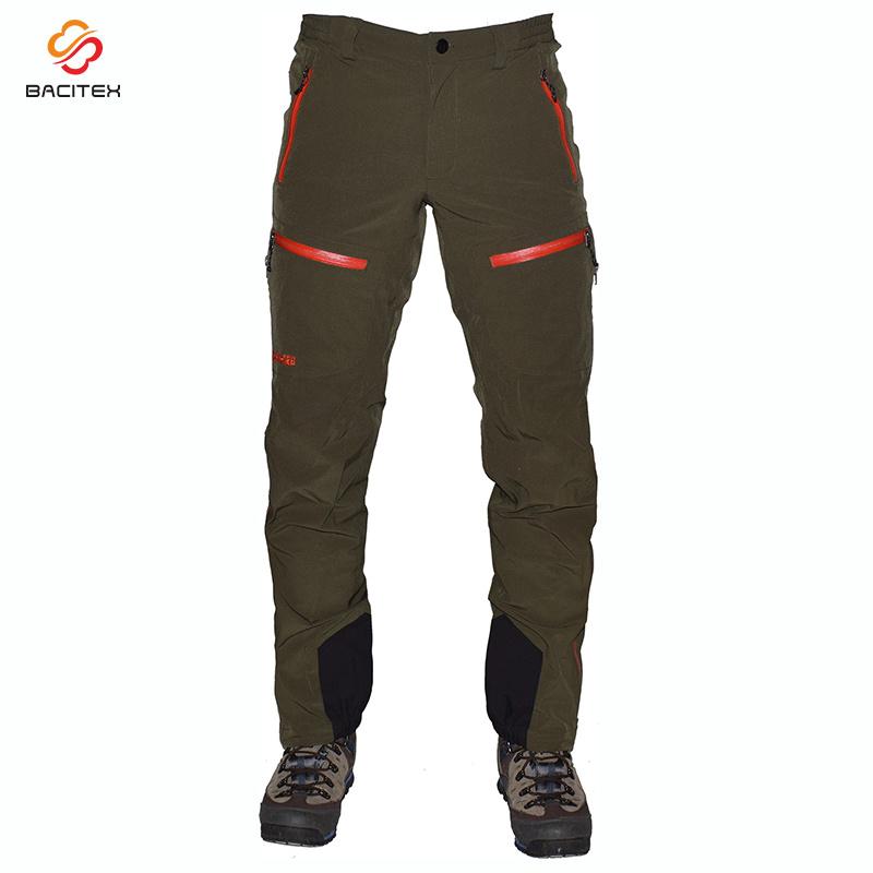 Armee-grüne beiläufige Hose-öffnen sich im FreienMilitäruniform-Ladung-Hosen mit dem Bein
