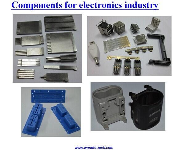 Bauteile für Elektronik-Industrie