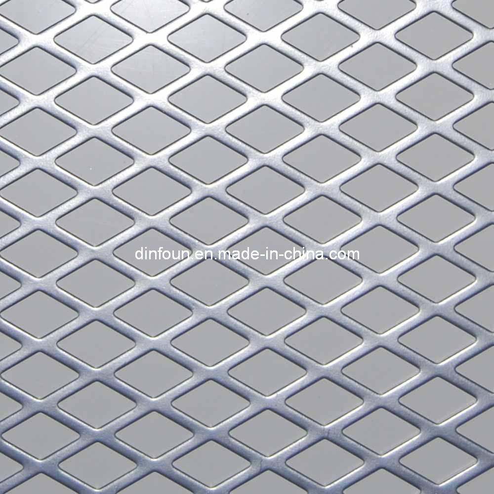 aluminium plaque de diamants en acier inoxydable maille perfor e feuille feuille de m tal. Black Bedroom Furniture Sets. Home Design Ideas