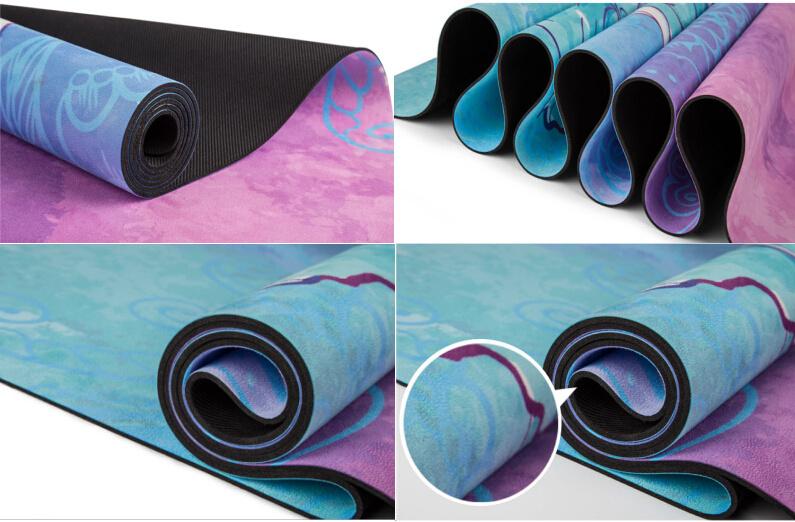 7 Chakras Imprime Personnalise Tapis De Yoga Serviette Combo Et
