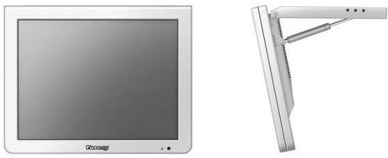 15 de Adverterende Monitor van Yusong LCD van de duim