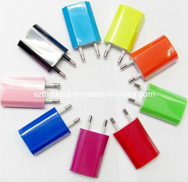 Nieuwe USB-oplader voor de netvoedingsadapter van de EU Voor PDA DV MP3 MP4 iPhone3 4 4s