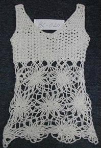 Maglione - 100% cotone, Crochet