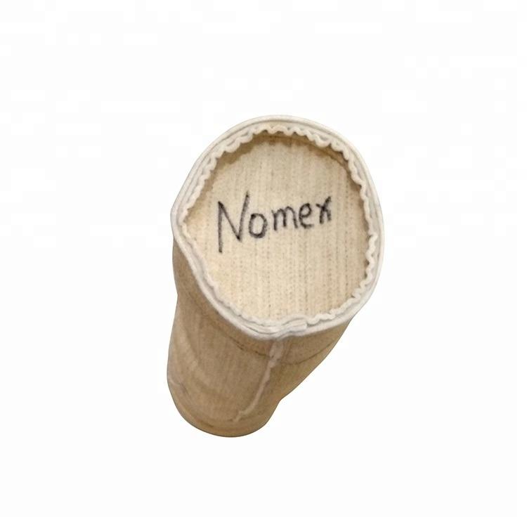 Sacchetto filtro caldo di Nomex di vendita per più alta filtrazione della polvere di temperatura
