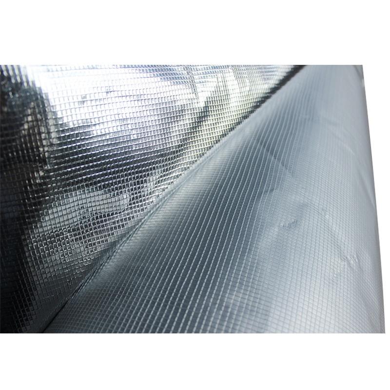 난연제용 알루미늄 호일 직물 및 천