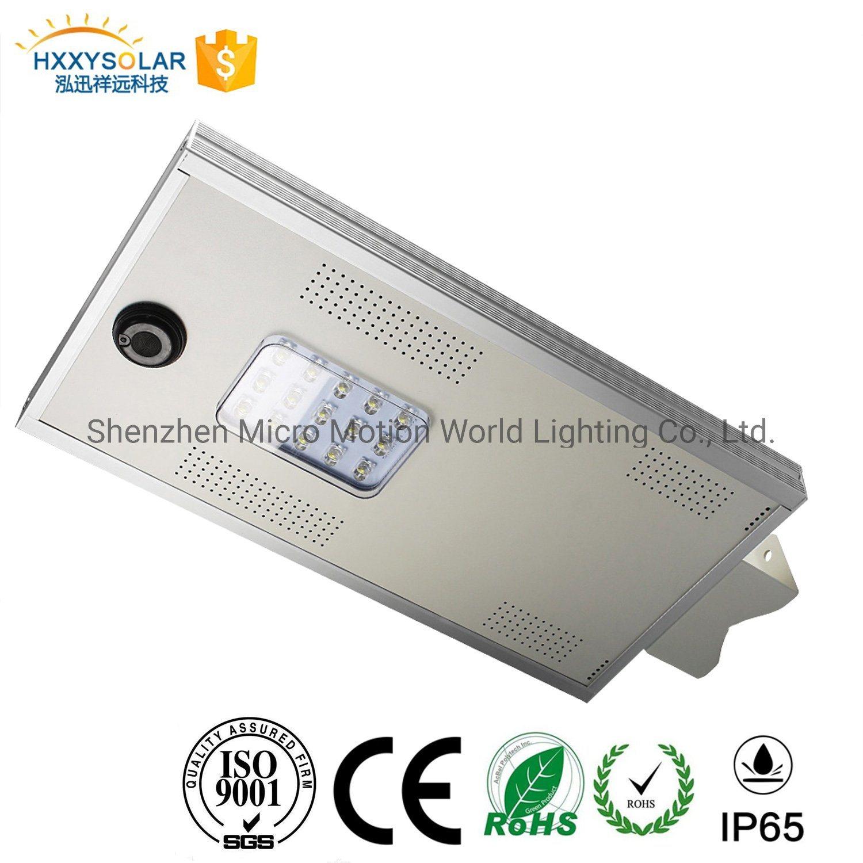 공장 가격 15watts 통합 IP65 LED 태양 제품 2019의 옥외 램프 포스트 빛