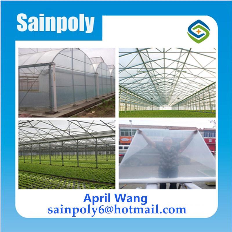 Bajo costo de la película de plástico agrícola de efecto invernadero UV