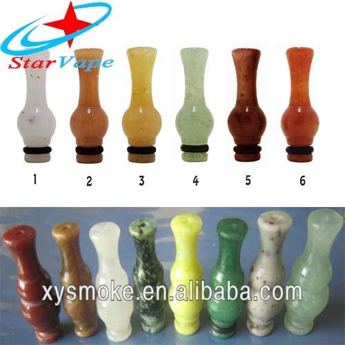 다양한 종류의 전자 담배 마우스피스 Jade Drip Tip Ecig 마우스피스 Ecig 드립 팁 CE4 드립 팁
