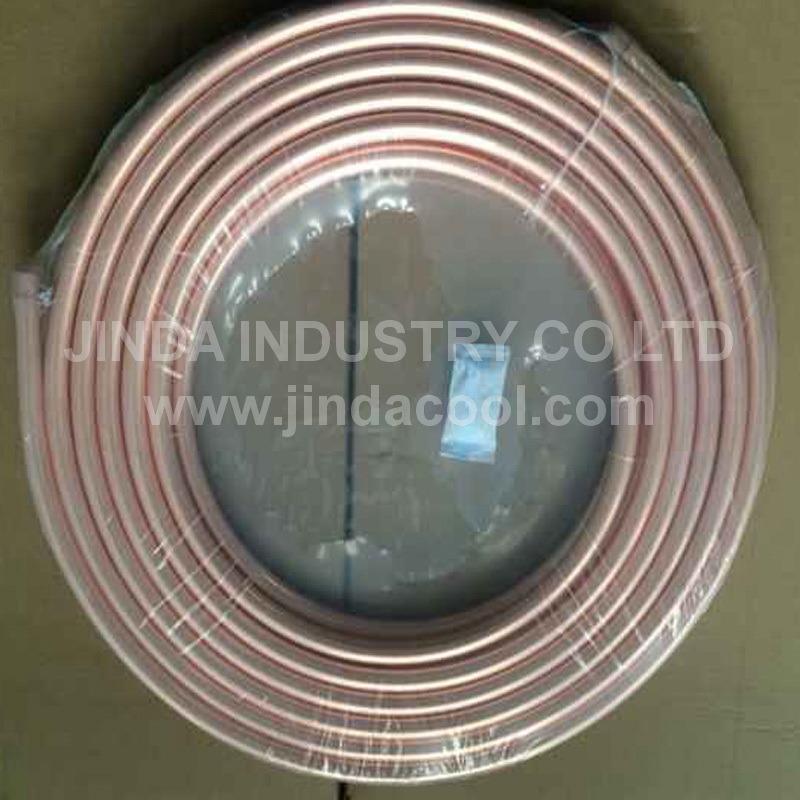 Bobina de cobre de tubos de cobre do tubo de cobre para refrigeração