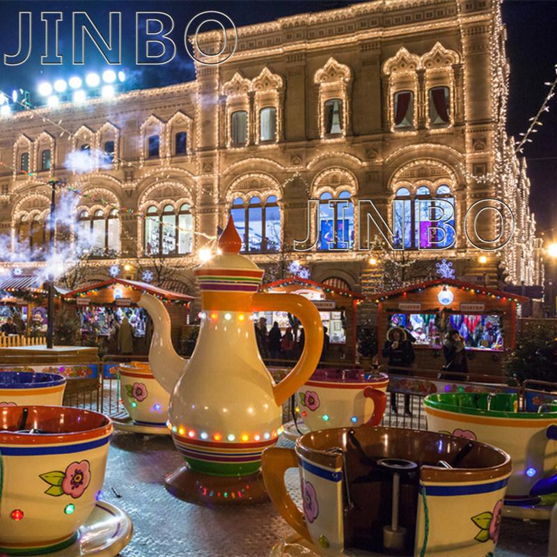 Fabrieksprijs Custom Trailer Portable Amusement Park rijdt Rotating Tea Cup Coffee Cup ritten