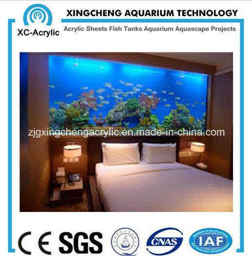 Das Schlafzimmer-Wand-hängende Aquarium foto auf de.Made-in ...