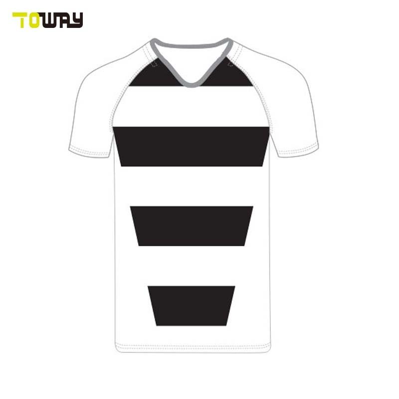 Sublimated Oem Jersey Van De Praktijk Van Het Rugby Van Maleisië Van De Polyester