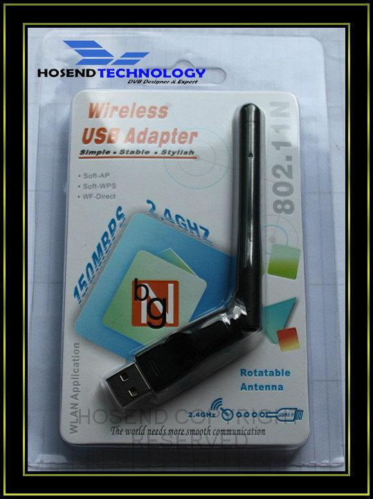 150 Мбит/с драйвер Ralink rt5370 Mini Wireless WiFi USB-ключ для радиосвязи WiFi