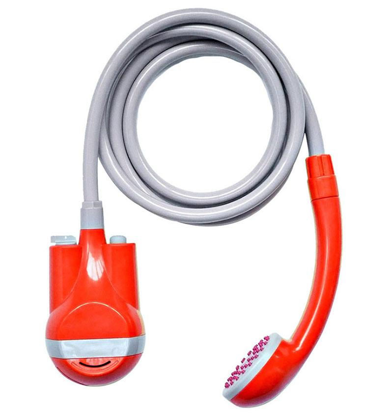 Douche campante lectrique campante ext rieure de mat riel avec la batterie li ion intrins que - Epilateur electrique sous la douche ...