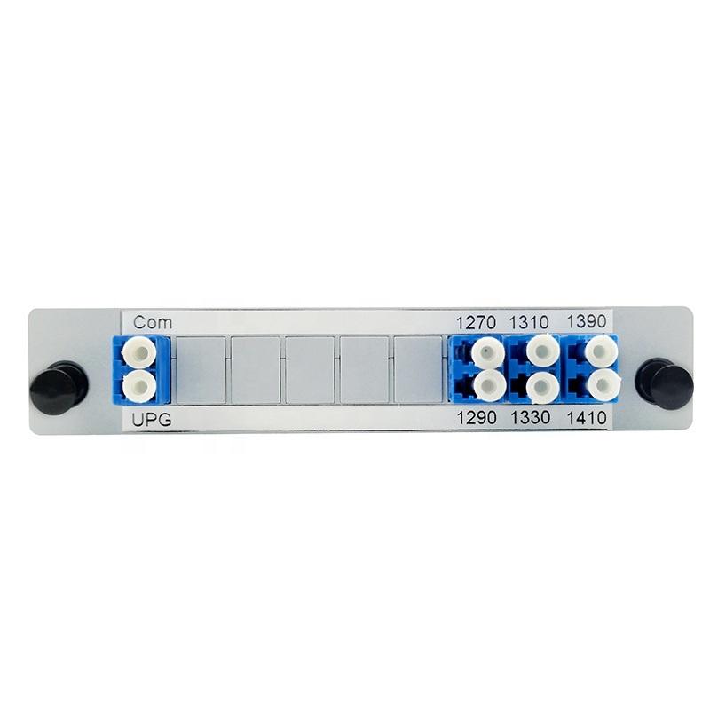 Caixa do módulo de cassete ABS plástico LC UPC 6CH CWDM Mux