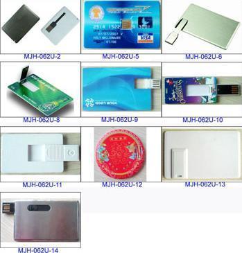 Azionamento dell'istantaneo del USB della carta (disegno del metallo)