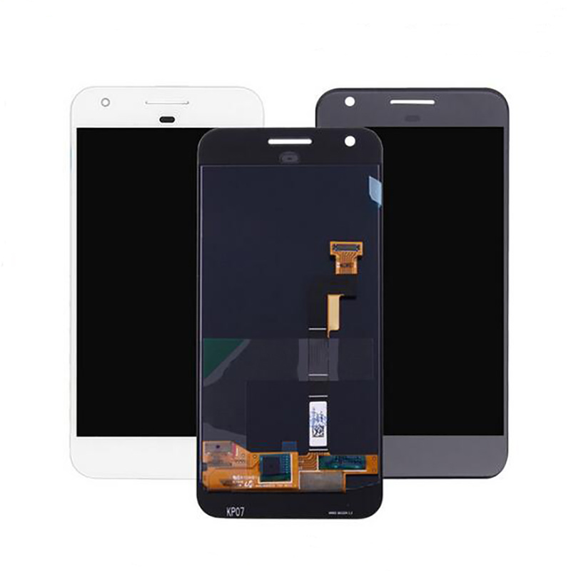 HTC GoogleピクセルLCD関連S1の表示タッチ画面の計数化装置の置換の黒の白のため
