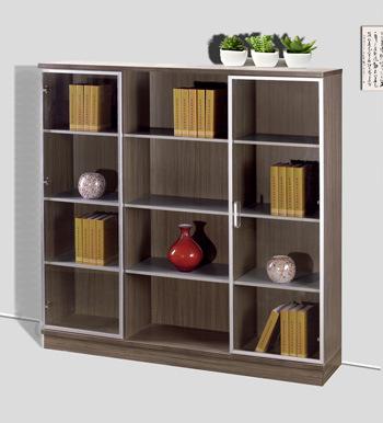 Estante para libros de madera de la melamina con las - Estanterias de madera para libros ...