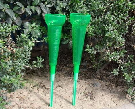 Ploviometros البلاستيك