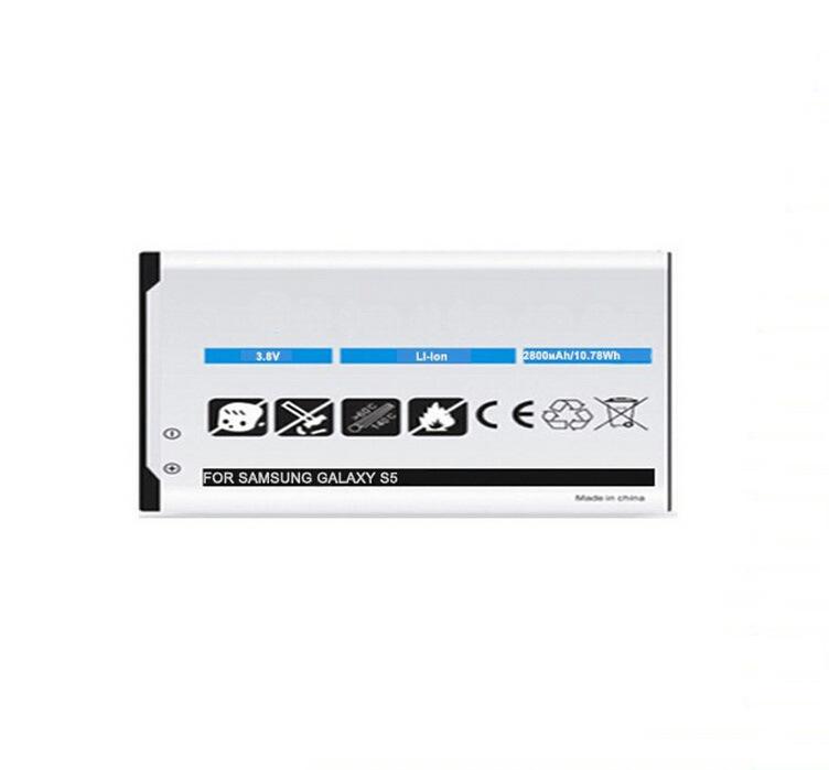 Haute qualité 2800mAh Batteries pour Téléphone Mobile Samsung S5
