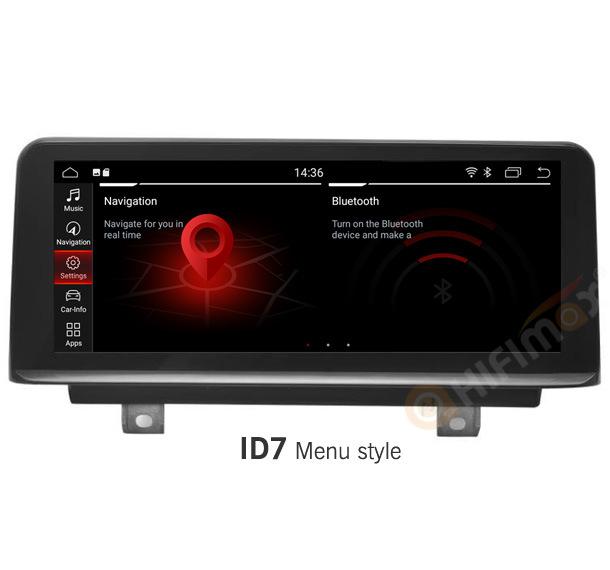 Hifimax 10.25 '' des Android-1/2 BMW F20 Serie der Navigations-GPS für BMW F20 F21 F23 Cabrio Rhd