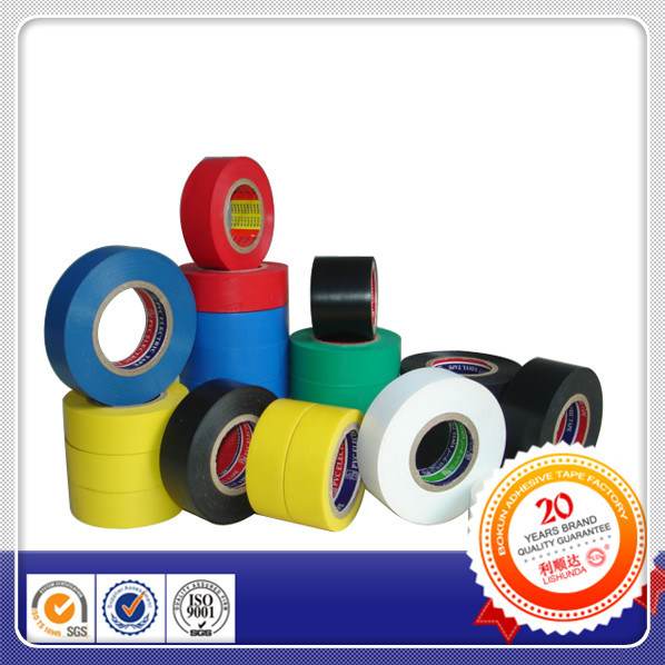 Gelbes schwarzes PVC-Warnband