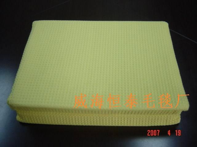 Gaufre de couverture de coton