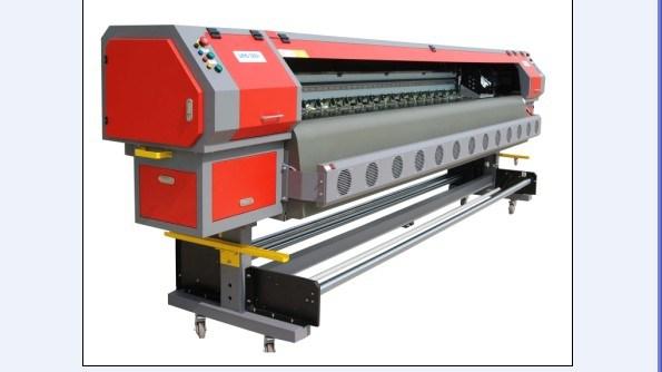 Impresora de inyección de tinta solvente Konica 512