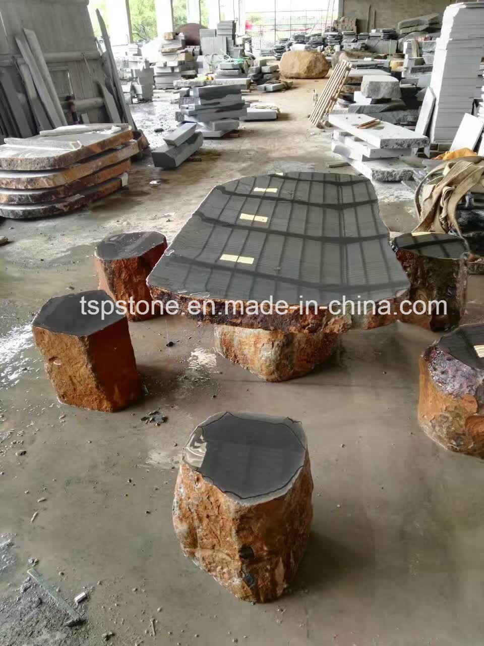 Foto de Mesa de piedra de mármol y granito para el Hotel y muebles ...