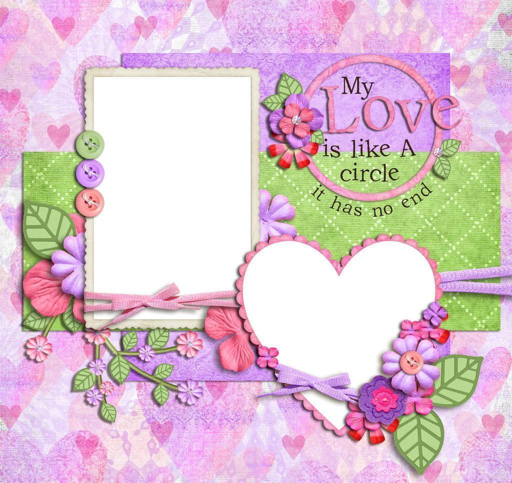 Foto de Diseño personalizado Marco de fotos de papel lindo Marcos ...