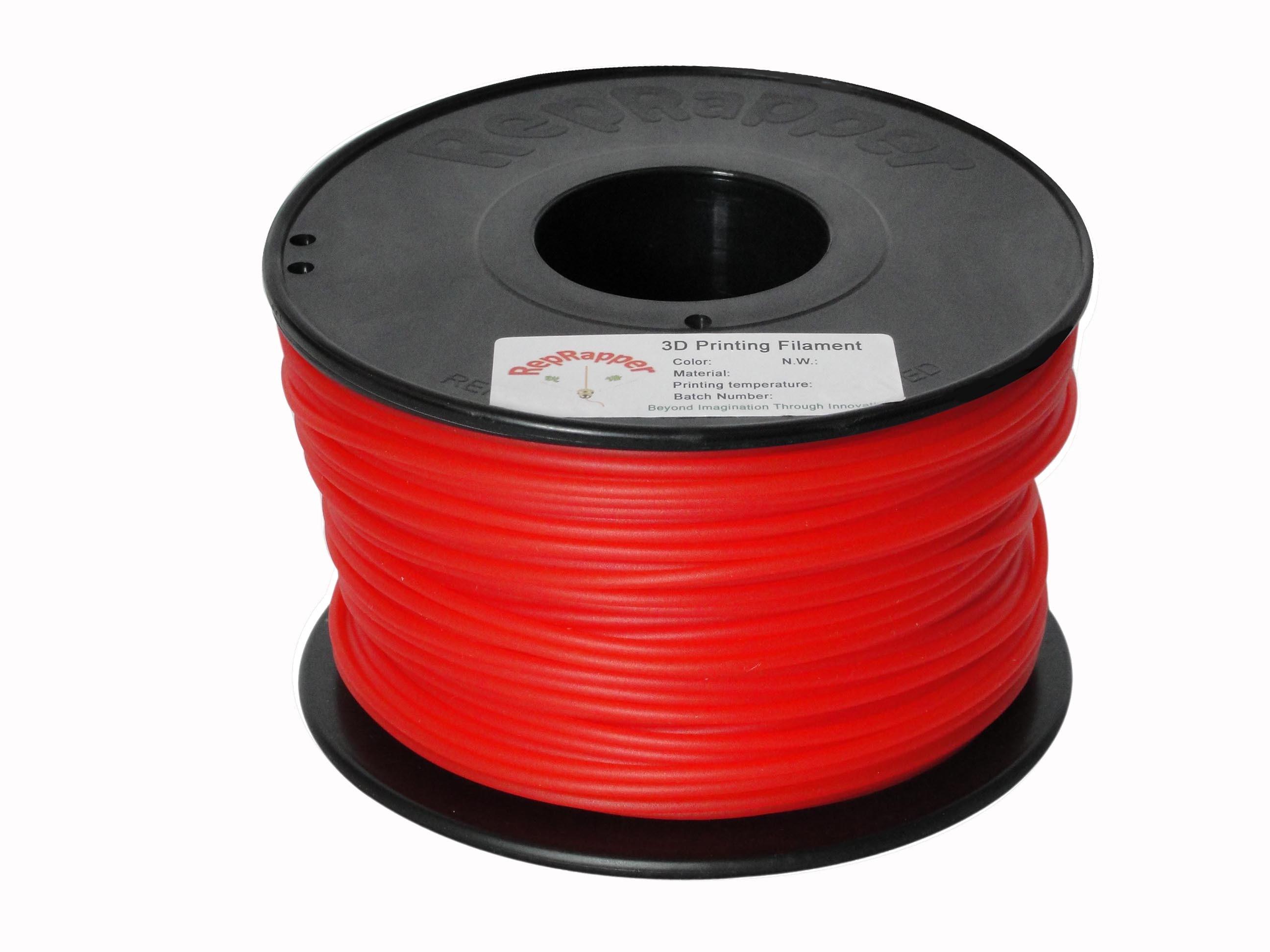 PLA rojo de 3,0 mm de filamento de impresión 3D