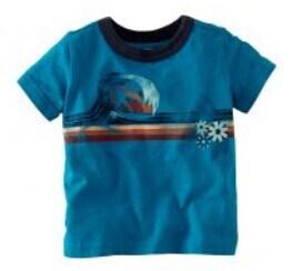 Boy's Summer Surf T-shirt Kid's Wear Bt19
