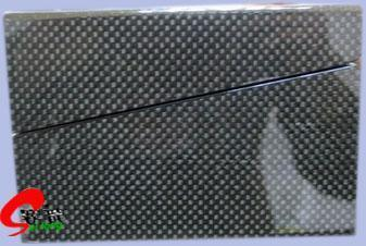 Ювелирные изделия из углеродного волокна в салоне