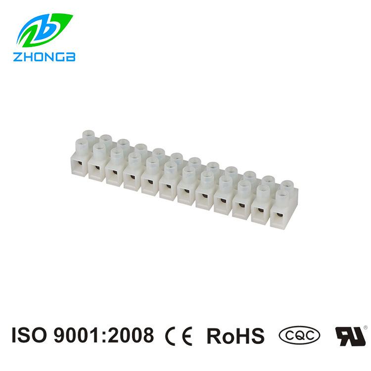 Bloc de jonction de Style de barrière Pitch 10.0mm
