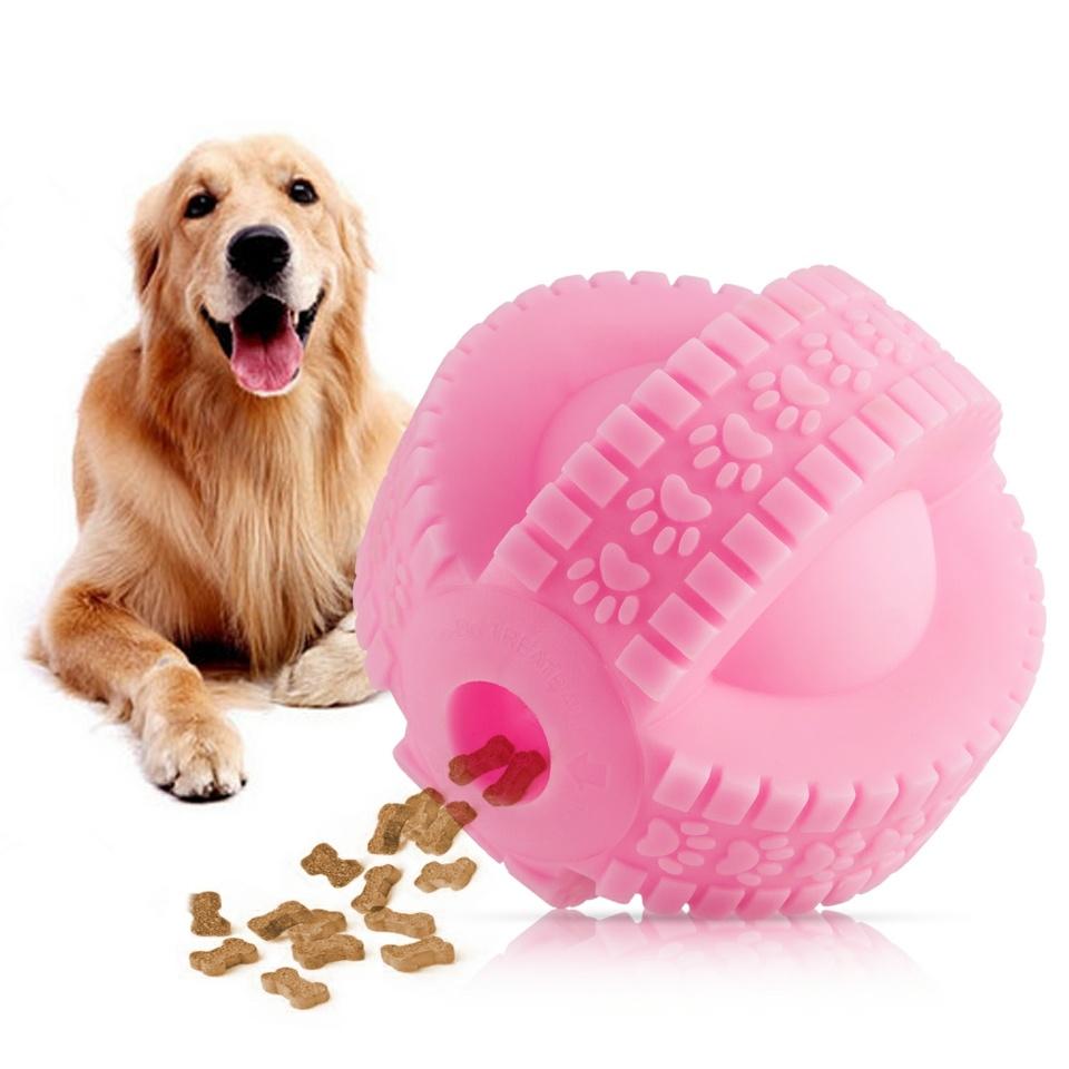 Primer lanzamiento mundial-3D X PVC Bola de tratar de perro de neumáticos