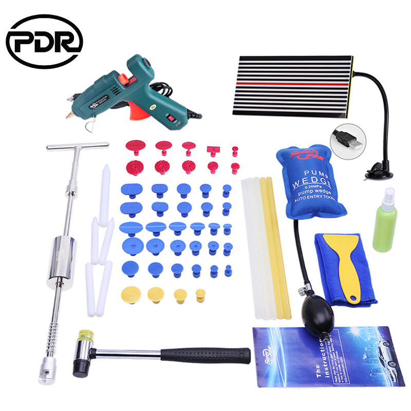 Venta caliente Pdr Desabollado Auto Body Dent Repair Tool Kit