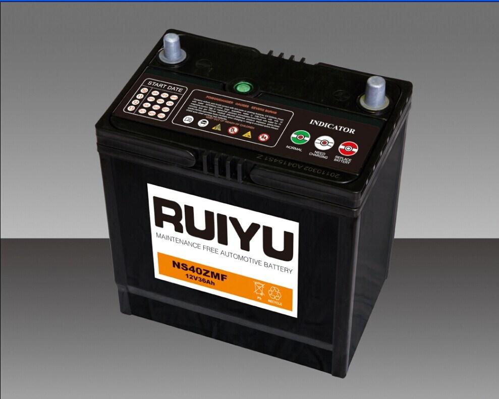 Ns40LS 12V32Ah selladas de plomo de Mf Aicd batería del coche