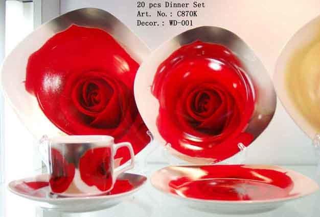 20 Pcs Porcelain Dinner Set (WD-001)