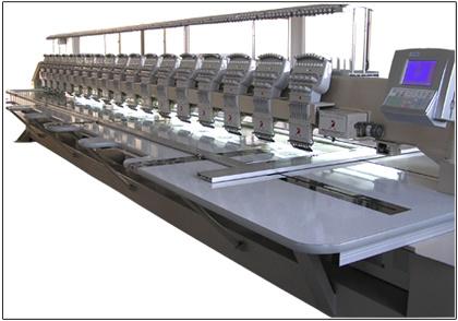 Platte Borduurmachine