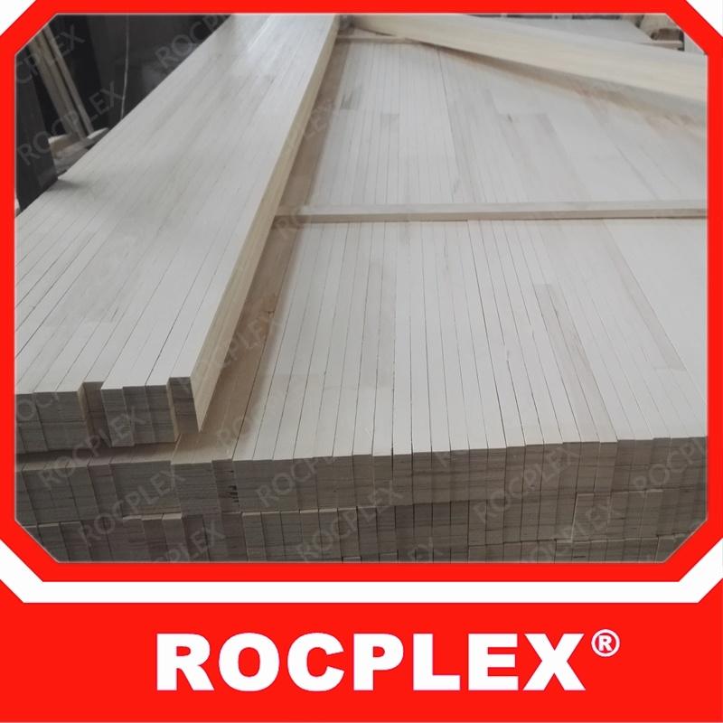 ドアのコアのためのLVLおよびポプラLVLのベッドのスラットのドアのコア材料のためのLVL木