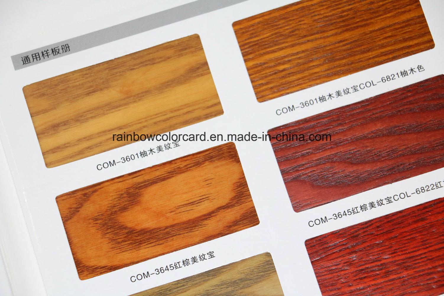 Colori Vernici Legno : Scheda di legno di colore della vernice della lacca della mobilia