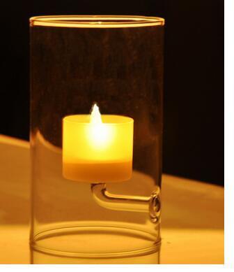 Supporto di candela della tazza, supporto di candela della paraffina