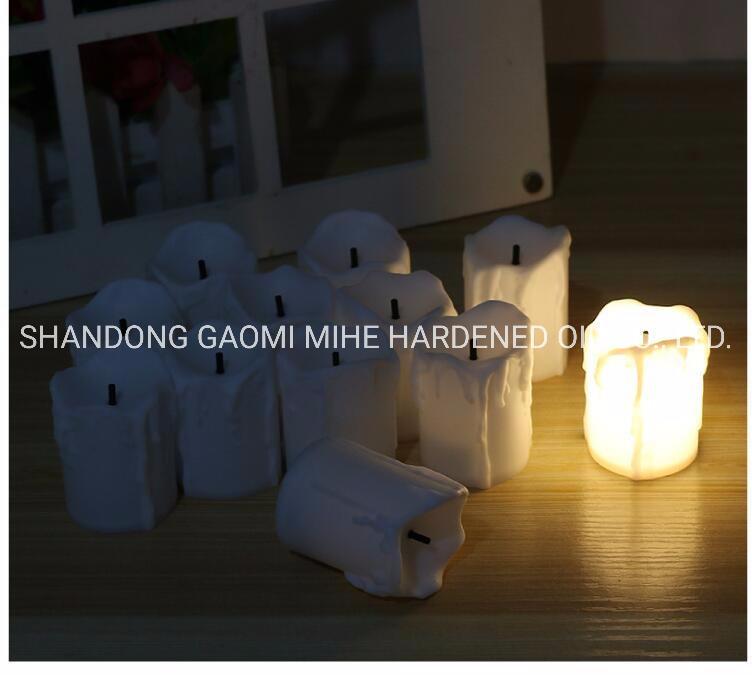 Mudança de cor velas LED, decoração Igreja Chandle LED