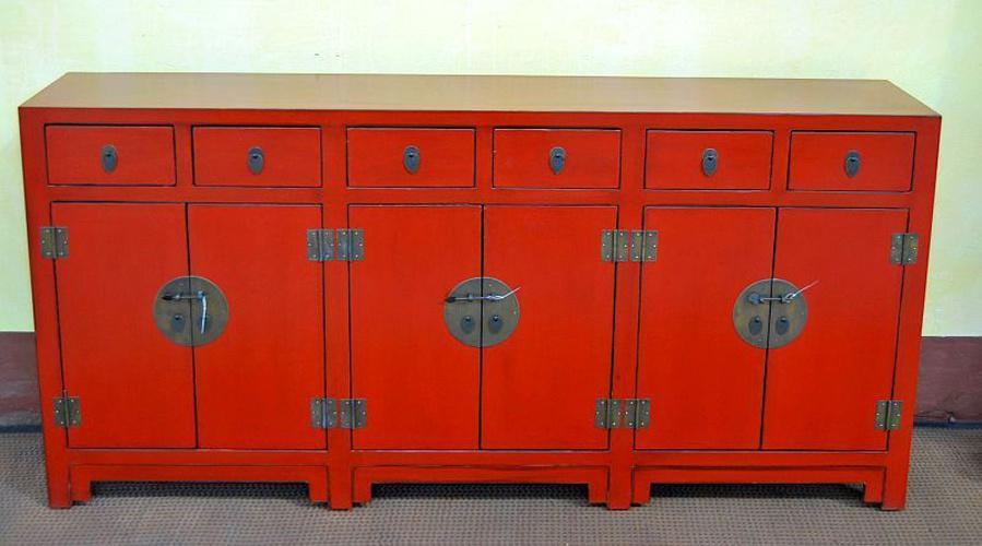 Foto de Muebles antiguos rojo chino Buffet en es.Made-in-China.com