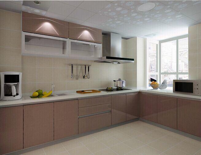 De goedkope mobiele opslag van de keuken gebruikte keukenkasten