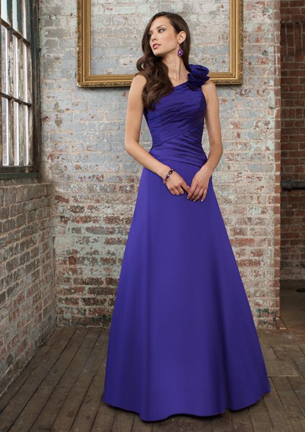Señoras vestidos de noche largo azul dulce (910113) – Señoras ...
