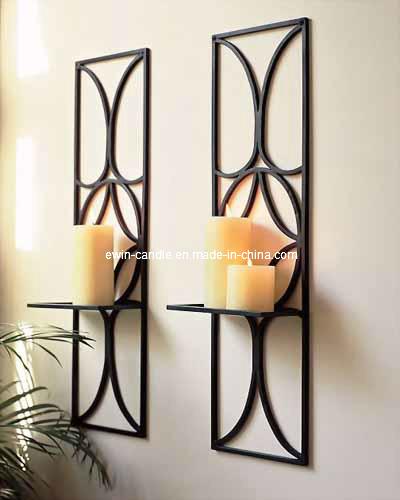 O ferro parede monta o suporte de vela rcd 001 o ferro - Portavelas grandes ...