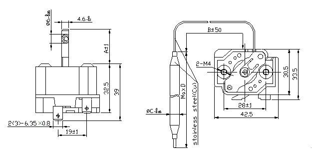 Ofen-Thermostat-Bolzen-Draht-Heizung-Temperatur-Schoner foto auf de ...